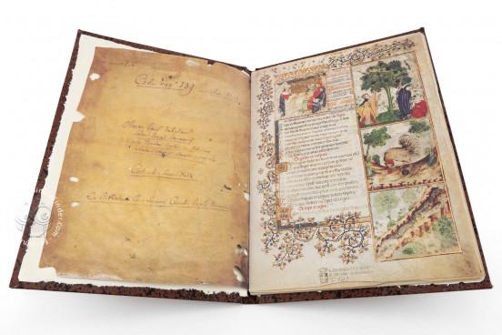 Aesop's Fables, Bologna, Biblioteca Universitaria di Bologna, Ms. 1213 − Photo 1