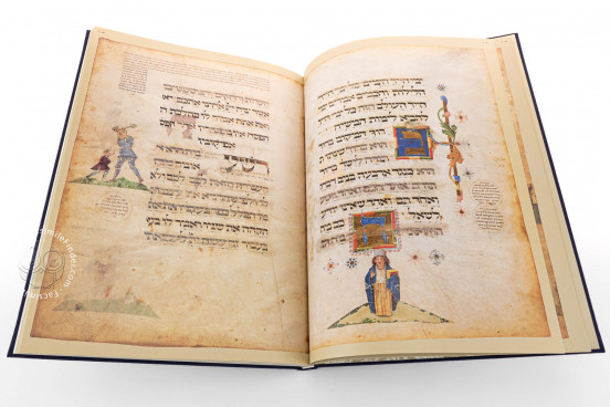 Ashkenazi Haggadah, London, British Library, Add. MS 14762 − Photo 1