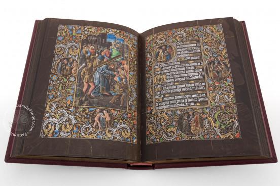 Black Prayer Book of Galeazzo Maria Sforza, Vienna, Österreichische Nationalbibliothek, Codex Vindobonensis 1856 − Photo 1