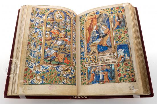 Officium Beatae Virginis, Cava de' Tirreni, Biblioteca Statale del Monumento Nazionale della Badia, Cod. Cavense 47 − Photo 1