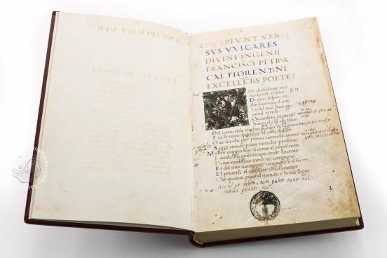 Petrarch's Italian Works, Ms. Casanatense 924 - Biblioteca Casanatense (Rome, Italy) − photo 1