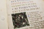 Petrarch's Italian Works, Ms. Casanatense 924 - Biblioteca Casanatense (Rome, Italy) − photo 2