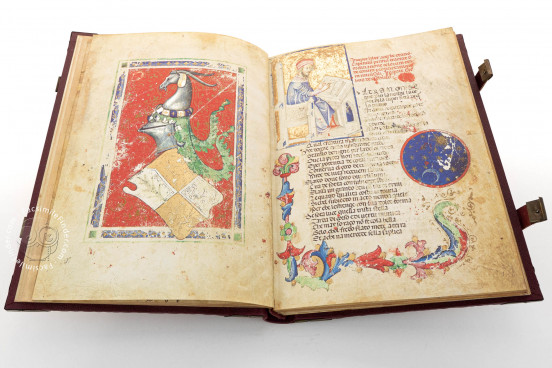 Acerba by Cecco d'Ascoli, Florence, Biblioteca Medicea Laurenziana, Ms Pluteo 40.52 − Photo 1