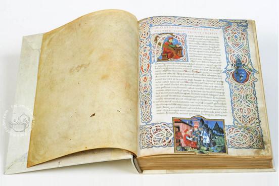 Columella - De Re Rustica, Rome, Biblioteca Vallicelliana, Ms. E 39 − Photo 1