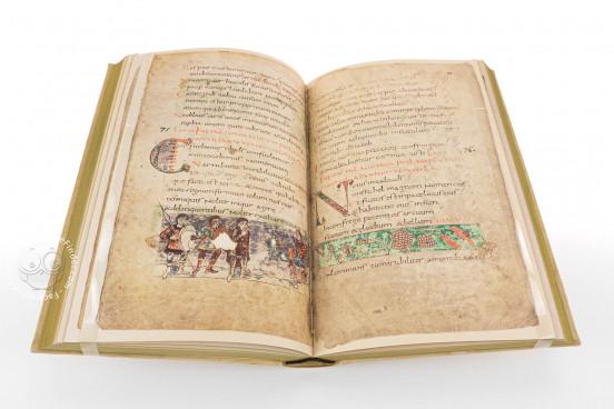 Stuttgart Psalter, Stuttgart, Württembergische Landesbibliothek, Bibl. fol. 23 − Photo 1