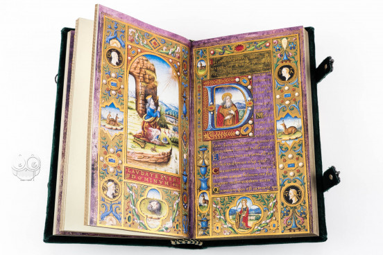 Book of Hours of Margaret of Austria and Alessandro de' Medici, Rome, Biblioteca dell'Accademia Nazionale dei Lincei e Corsiniana, ms. 55.K.16 (Cors. 1232) − Photo 1