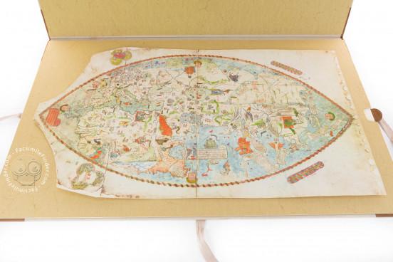 Mappa Mundi 1457, Florence, Biblioteca Nazionale Centrale, Portolano 1 − Photo 1