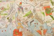 Mappa Mundi 1457, Florence, Biblioteca Nazionale Centrale, Portolano 1 − Photo 3