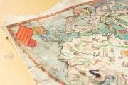 Mappa Mundi 1457, Florence, Biblioteca Nazionale Centrale, Portolano 1 − Photo 4
