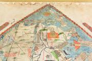 Mappa Mundi 1457, Florence, Biblioteca Nazionale Centrale, Portolano 1 − Photo 12