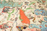 Mappa Mundi 1457, Florence, Biblioteca Nazionale Centrale, Portolano 1 − Photo 13