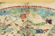 Mappa Mundi 1457, Florence, Biblioteca Nazionale Centrale, Portolano 1 − Photo 14