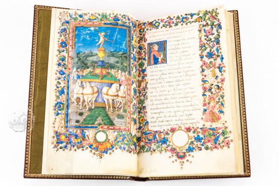 Francesco Petrarca. Trionfi, Rome, Biblioteca dell'Accademia Nazionale dei Lincei e Corsiniana, 55.K.10 (Cors. 1081) − Photo 1