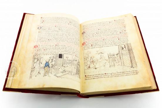 Tavola Ritonda, ms. Palatino 556 - Biblioteca Nazionale Centrale (Florence, Italy) − photo 1