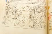 Tavola Ritonda, ms. Palatino 556 - Biblioteca Nazionale Centrale (Florence, Italy) − photo 11