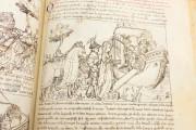 Tavola Ritonda, ms. Palatino 556 - Biblioteca Nazionale Centrale (Florence, Italy) − photo 20