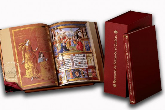 Breviario de Fernando El Católico, Vatican City, Biblioteca Apostolica Vaticana, Ms. Chig.C.VII.205 − Photo 1
