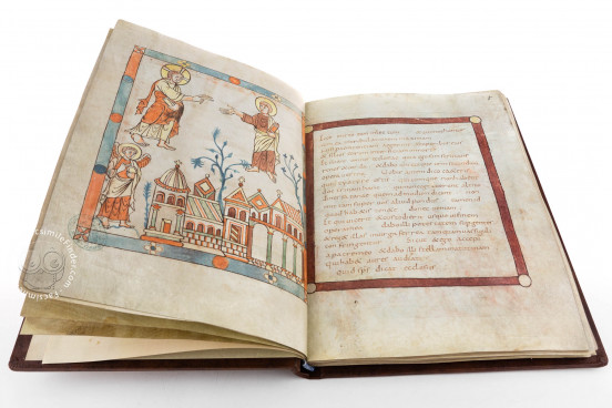 Cambrai Apocalypse, Cambrai, Médiathèque d'Agglomération, Ms. B 386 − Photo 1