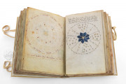 Voynich Manuscript, MS 408 - Beinecke Rare Book and Manuscript Library (New Haven, USA), Fold-out with astral diagrams in the Voynich manuscript