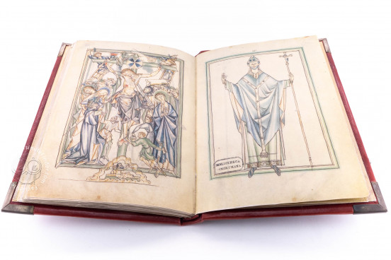 Lambeth Palace Apocalypse, London, Lambeth Palace Library, MS 209 − Photo 1