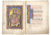 The Passau Evangelary, Munich, Bayerische Staatsbibliothek, Clm 16002, Passau Evangelary - f. 39v-40r (Ecclesia)