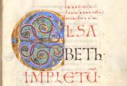 The Passau Evangelary, Munich, Bayerische Staatsbibliothek, Clm 16002, Passau Evangelary - Historiated C at f. 31r