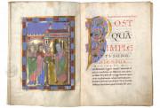 The Passau Evangelary, Munich, Bayerische Staatsbibliothek, Clm 16002, Passau Evangelary - f. 10v-11r