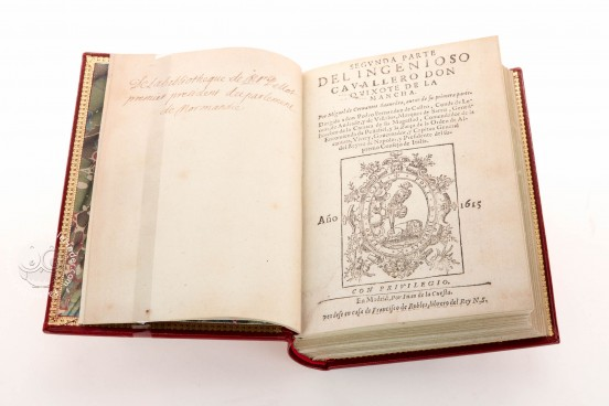 Don Quixote de la Mancha. Editio Princeps, Toledo, Biblioteca del Cigarral del Carmen, KR1378 − Photo 1