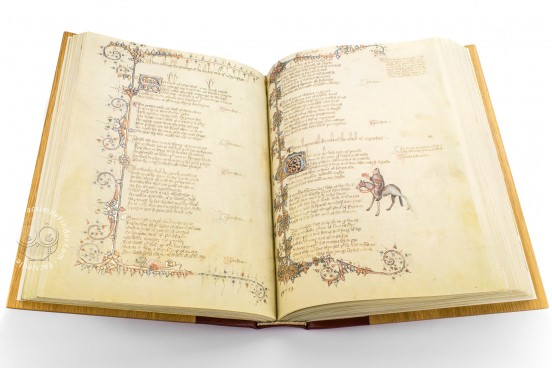 Ellesmere Chaucer, San Marino, Huntington Library, Art Collections, and Botanical Gardens, EL 26 C 9 − Photo 1