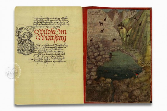 Das Fischereibuch Kaiser Maximilians I, Vienna, Österreichische Nationalbibliothek, Codex Vindobonensis 7962 − Photo 1