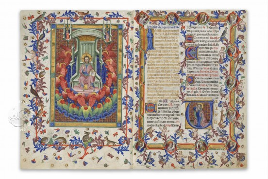 Breviary of Martin of Aragon, Paris, Bibliothèque Nationale de France, MSS Rothschild 2529 − Photo 1
