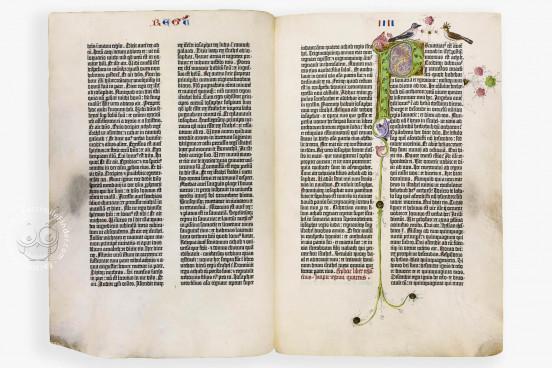 Berlin Gutenberg Bible, Berlin, Staatsbibliothek Preussischer Kulturbesitz, Inc. 1511 − Photo 1