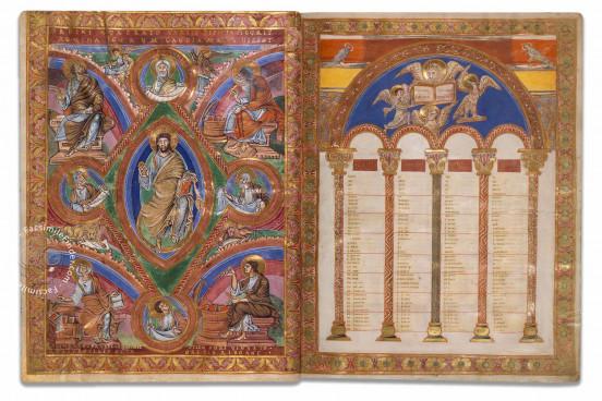 Codex Aureus of St. Emmeram, Munich, Bayerische Staatsbibliothek, Clm 14000 − Photo 1