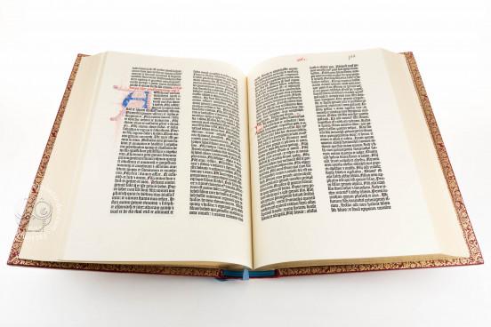 Mazarin Bible, Paris, Bibliothèque Mazarine, Inc. 1 − Photo 1
