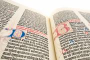 Mazarin Bible, Paris, Bibliothèque Mazarine, Inc. 1 − Photo 6