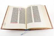 Mazarin Bible, Paris, Bibliothèque Mazarine, Inc. 1 − Photo 14