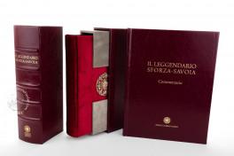 Leggendario Sforza-Savoia, Turin, Biblioteca Reale di Torino, Cod. Varia 124, Leggendario Sforza-Savoia facsimile edition by Franco Cosimo Panini.