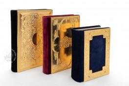 Triptico de Montserrat (Deluxe Edition), Montserrat, Biblioteca de la Abadía de Montserrat, Ms. 66, Triptico de Montserrat (Deluxe Edition) facsimile edition by CM Editores.