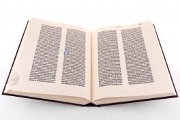 Biblia sacra Mazarinea: MCDLV, Paris, Bibliothèque Mazarine, Inc. 1, Biblia sacra Mazarinea: MCDLV facsimile edition by Bibliotheca Rara.