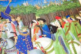 Les Très Riches Heures du Duc de Berry - Die Monatsblätter des, Chantilly, Musée Condé, Ms. 65, Les Très Riches Heures du Duc de Berry - Die Monatsblätter des Kalenders facsimile edition by Faksimile Verlag.