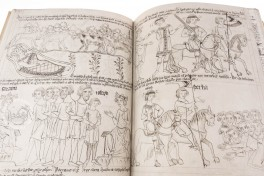 Velislai Biblia Picta, Prague, National Library of the Czech Republic, Velislai Biblia Picta facsimile edition by Sumptubus Pragopress.