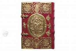 Das Goldene Buch von Pfäfers (Deluxe Edition), St. Gallen, Stiftsarchiv St. Gallen, Codex Fabariensis 2, Das Goldene Buch von Pfäfers (Deluxe Edition) by Adeva.