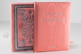 Libro d'Ore di Renata di Francia, Modena, Biblioteca Estense Universitaria, α.U.2.28=lat. 614 (now lost), Libro d'Ore di Renata di Francia facsimile edition by Il Bulino, edizioni d'arte.