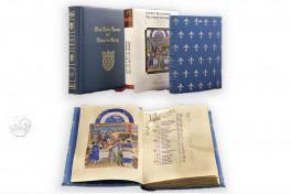 Las Muy Ricas Horas del duque de Berry, Chantilly, Musée Condé, Ms. 65, Las Muy Ricas Horas del duque de Berry facsimile edition by Patrimonio Editiones.