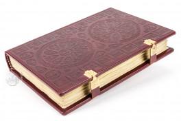 Salterio de San Albans, Hildesheim, Dombibliothek Hildesheim, MS St. God. 1 Cologne, Schnütgen Museum, Inv. No. M694, Salterio de San Albans facsimile edition by Eikon Editores.