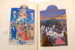 Très Riches Heures du Duc de Berry, Chantilly, Musée Condé, Ms. 65, Très Riches Heures du Duc de Berry facimile edition by Faksimile Verlag.