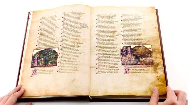 Divine Comedy from the Biblioteca Angelica in Rome