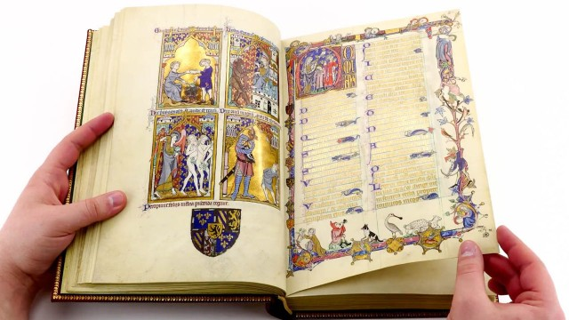 The Peterborough Psalter in Brussels