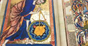 What if God was an Architect? Unveiling a New Facsimile of the Bible Moralisée
