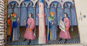 Fighting a Pandemic with Stories, in 14th-century Italy